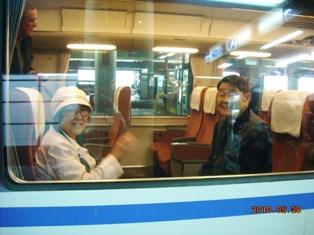 24May30帰りの電車