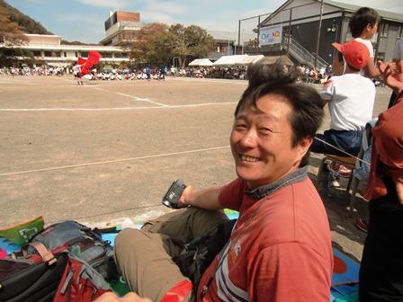 車椅子のお母様との会話視線