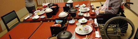 TH120229 石花海での夕食のお部屋
