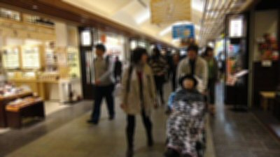 ④ソラマチ商店街を散策