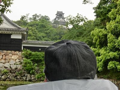 S様から見た高知城