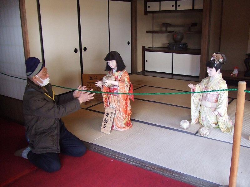 ⑮1231⑫家老(西郷頼母)の娘達と手毬遊び!
