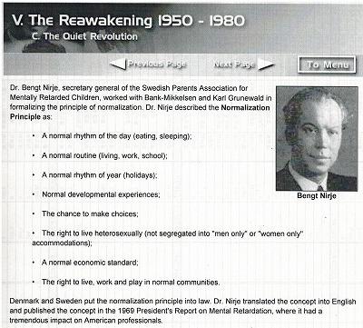 192 Princlple of Normalization   Dr.Bengt  Nirje