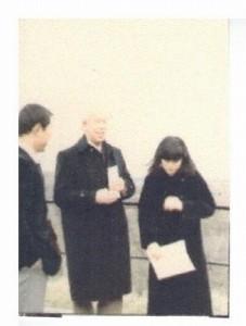 Dr.Bengt Nirje at Uppsala  1982
