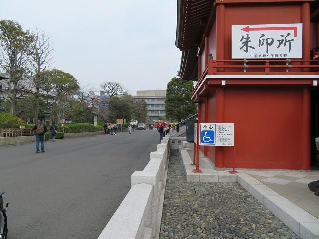 浅草寺エレベーター